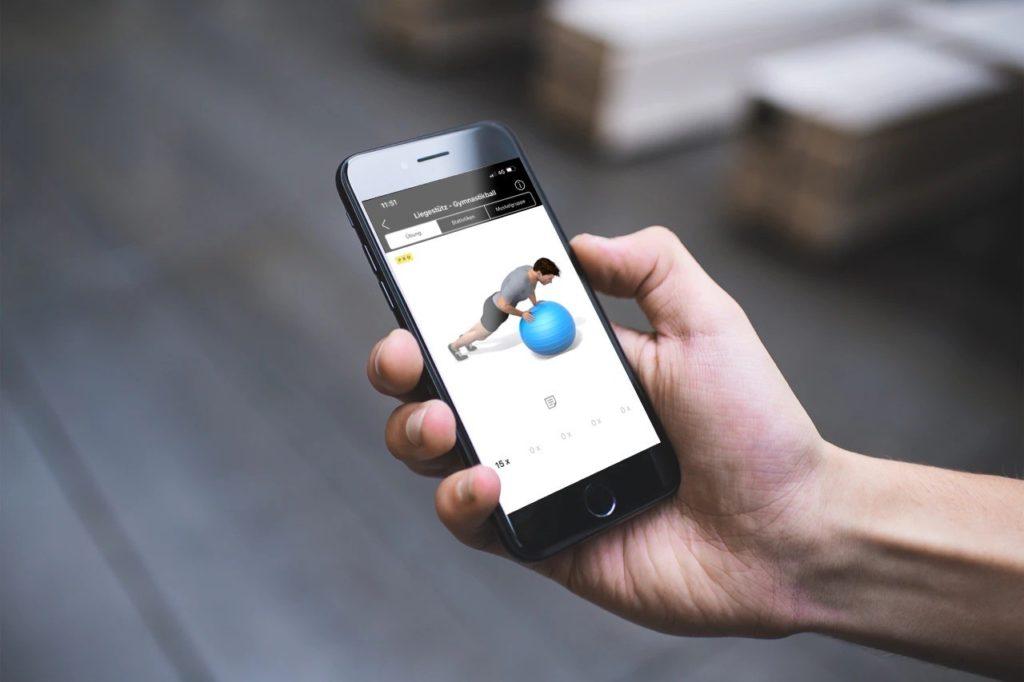 Fitness-App mit Training von Philipp Schörghofer